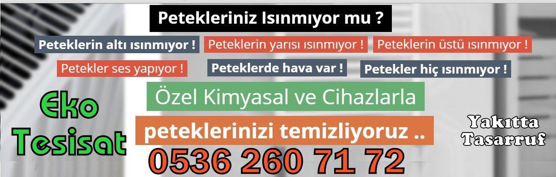 Petek Temizleme İzmir, İzmir Petek temizliği